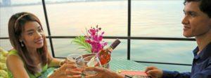 Romantic cruise in Phnom Penh