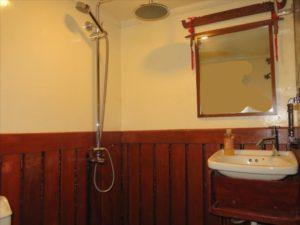 Bathroom front cabin