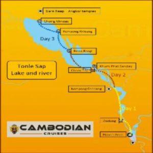 Cruise on the Tonle Sap - Siem Reap Phnom Penh on Sat Toung - Cambodian cruises