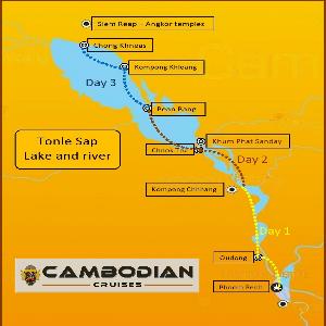 Croisière Angkor - Phnom Penh