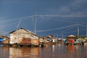 Village flottant sur le Tonle Sap - Cambodian cruises