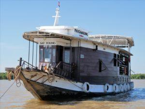 Phnom Penh à Siem Reap - Sat Toung - Cambodian cruises
