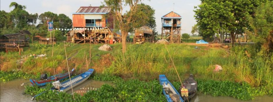 Along the Tonle Sap river